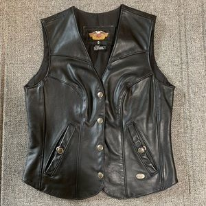 WOMENS Harley Davidson Form Fitting Classic Vest